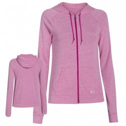 Under Armour dámska mikina charged cotton undeniable full zipp hoody