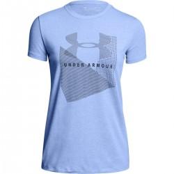 Under Armour dámske tričko Sportstyle Mesh Logo Crew