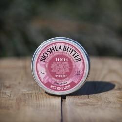 Sportique shea butter - wild rose