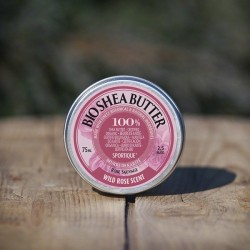 Sportique shea butter - wild rose