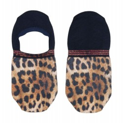 Dámske členkové ponožky XPOOS Leopard