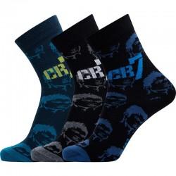 Detské ponožky CR7 Fashion 3-pack