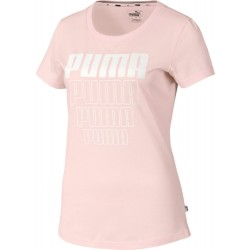 Dámske tričko Puma Rebel Graphic Tee Rosewater