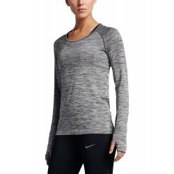Dámske bežecké tričko s dlhým rukávom Nike Dry Knit
