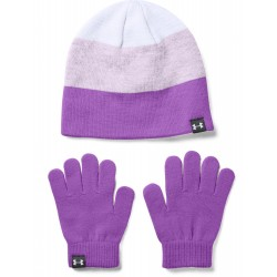 Set čiapky a rukavice Under Armour Girls Beanie Glove Combo