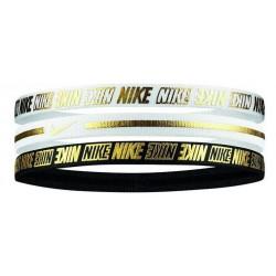 Čelenky Nike Metallic Headbands 3 pack