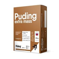 Extra Mass Puding kartón /6 x 35 g/6 dávok, čokoláda