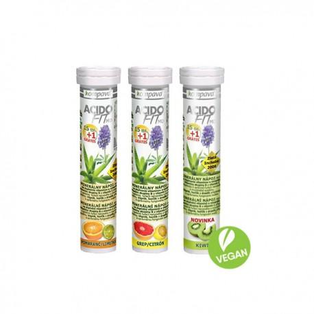 AcidoFit MD 15+1 tbl. 15 + 1 tabliet, kiwi