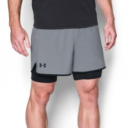 UA QUALIFIER 2-IN-1 SHORT