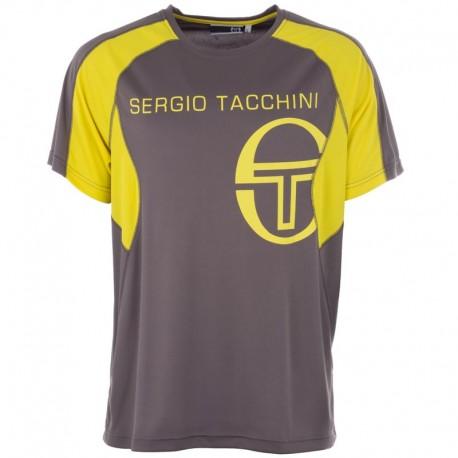 Tričko Sergio Tacchini Austin Poly - šedé
